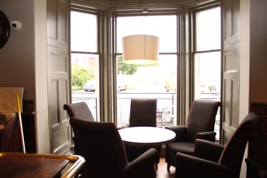 Ravelston House Musselburgh hotel bar interior
