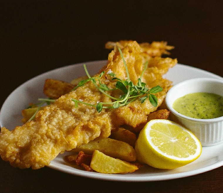 Ravelston House Musselburgh fish and chips