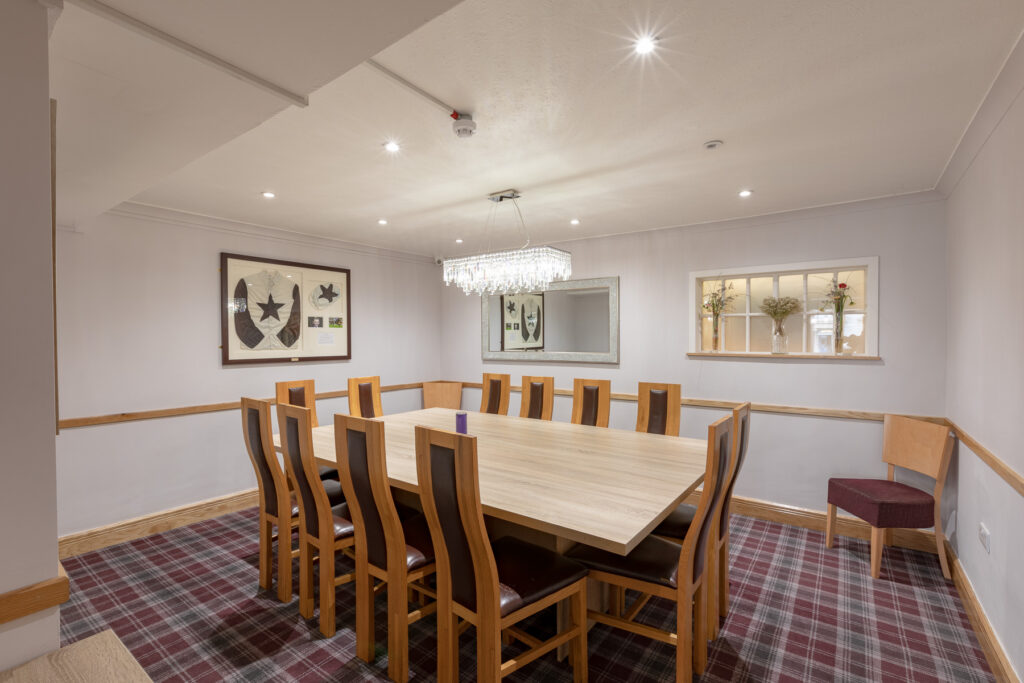 Ravelston House Musselburgh conference room