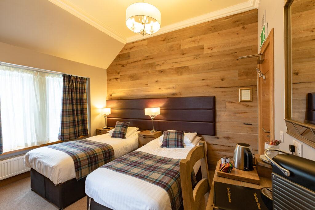 Ravelston House Musselburgh hotel twin room